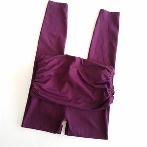 Prana | Purple Skirted Leggings Small